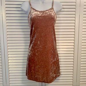 Forever 21 Crushed Velvet Dress